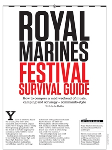 Royal Marines Festival Guide