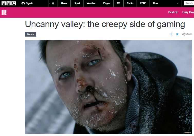 Uncanny Valley: The Creepy Side of Gaming | Joe Madden Words